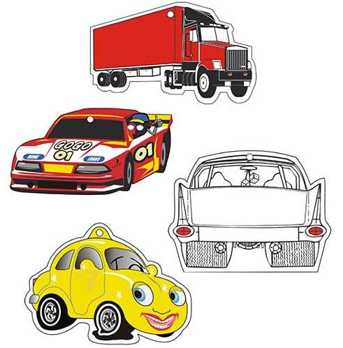 PROMOTIONAL GIFTS-Automotive themed custom promo air Fresheners