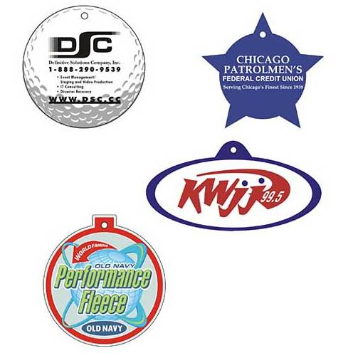 Round shaped Car Fresheners- business gifts