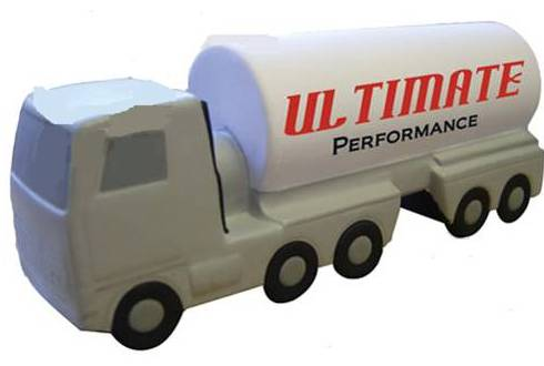 PROMOTIONAL GIFTS-OIL TANKER TUCK ANTI STRESS BALL