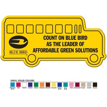 business gifts-Flexible bus Magnet