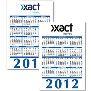 promotional gifts-Flexible Calendar magnet