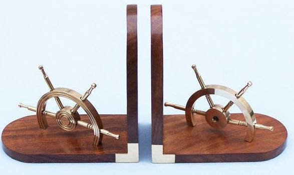wheel book ends-business gifts