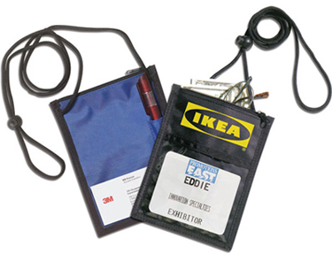 promotional gifts-Hanging conference badge / wallet