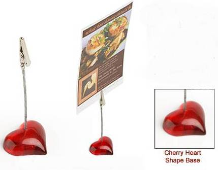 HEART MEMO CLIP- PROMOTIONAL GIFT