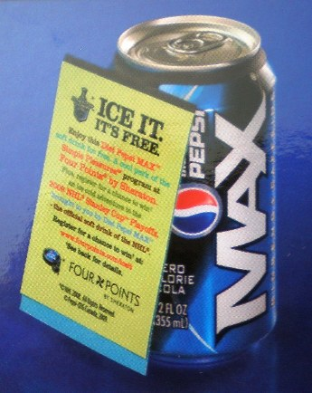 pepsi hang tag- business gifts