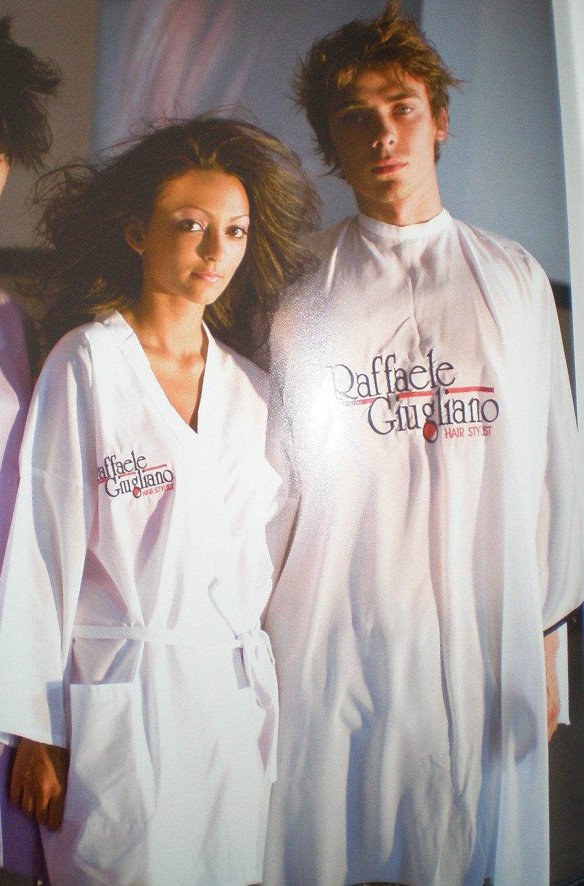 hairdresser uniform- promotional gifts
