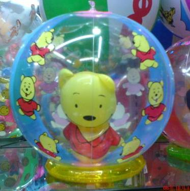 promotional gift-Pvc Winne The Pooh Inflatable Ball/Toy/Animal