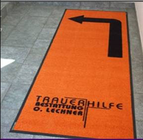 Promotional gifts-guiding rug